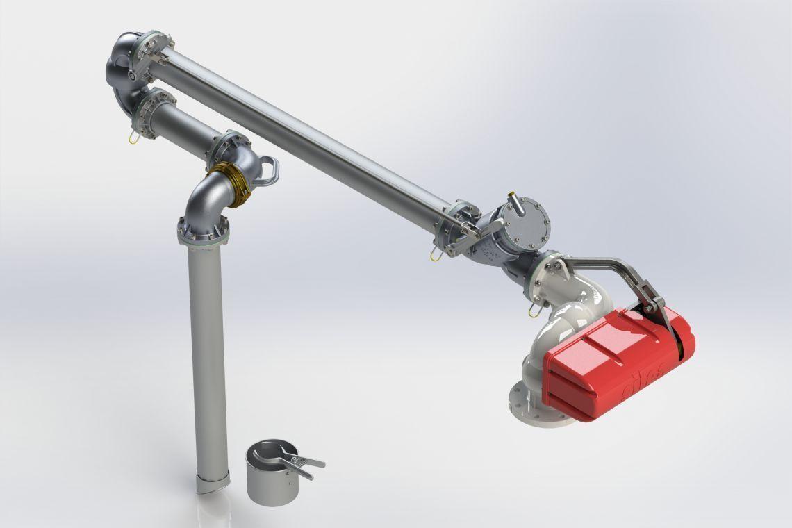 CẦN XUẤT LOẠI TOP LOADING ARM - 1101 SERIES